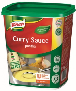 Knorr Curry Sauce pastös 1, 1 KG