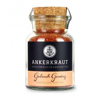 Ankerkraut Gulasch Gewürz würzige Gewürzmischung im Korkenglas 80g
