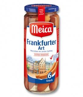 Meica Würstchen Frankfurter Art 6 Stück im zartem Saitling 540g