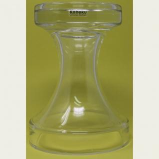Kaheku Vase oder Kerzenhalter aus Glas für Stumpenkerzen 20cm