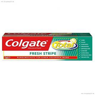 Colgate Total Fresh Stripe Zahnpasta, 75 ml