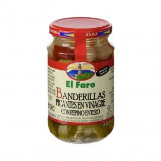 El Faro - Banderillas Picantes en Vinagre, Gemüsespieße in Essig Scharf -150g