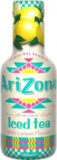 Arizona Iced Tea with Lemon Flavour 0, 5 l