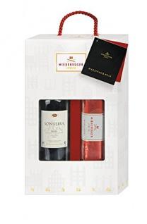 Niederegger Marzipan Schwarzbrot und Rotwein Präsent Flasche 1050g