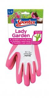 MAPA Handschuh Spontex Lady Garden Größe L aus Bambus Viskosefasern