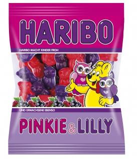 Haribo Pinkie & Lilly, Gummibärchen, Weingummi, Fruchtgummi 200g
