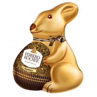 Ferrero Rocher Osterhase Zartbitter mit Haselnuss Stückchen 60g