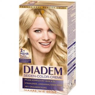 Schwarzkopf Diadem Seiden Color Creme Haarfarbe 180ml 3er Pack