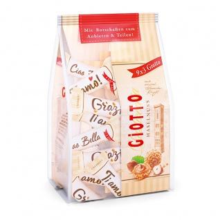Giotto 9x3 Mini Gebäck Kügelchen mit Haselnussgeschmack 116g