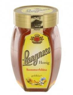 Langnese Sommerblütenhonig feiner süßer goldklarer Honig 250g