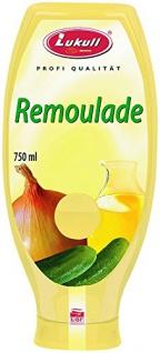 Lukull Profi Remoulade 50% 750 ml, 1er Pack (1 x 750 ml)