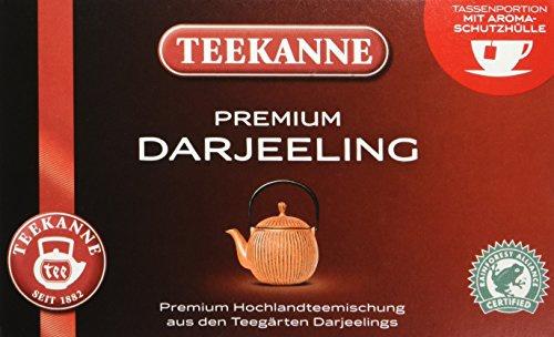 Teekanne Premium Darjeeling zarter und blumiger Schwarztee 5er Pack