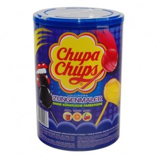 Chupa Chups Zungenmaler Kirsche Orange Cola fruchtig 100er 1200g