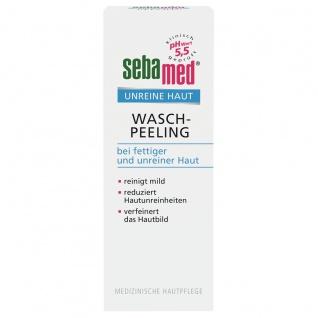 Sebamed Wasch Peeling milde Reinigung bei unreiner Haut 100ml