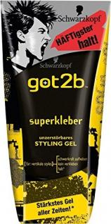 Got2b Gel Superkleber, 3er Pack (3 x 150 ml)