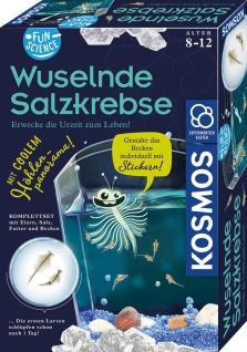 Kosmos 65416 Fun Science Wuselnde Salzkrebse für Kinder ab 8 Jahren