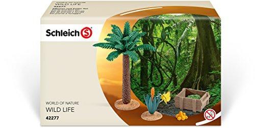Schleich 42277 World of Nature Pflanzen und Futter Set detailgetreu