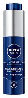 Nivea Men Active Age 6in1 Regenerierende Nachtpflege, Gesichtspflege, 1er Pack (1 x 50 ml) - Vorschau