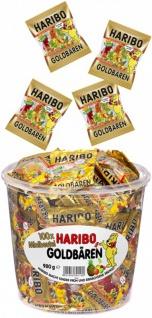 Haribo Minibeutel Goldbären Fruchtgummi in einem Miniformat 980g