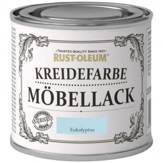 Rust Oleum Shabby Kreidefarbe Möbellack Eukalyptus mattes Finish 125ml