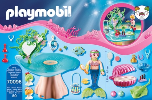 Playmobil Magic Beautysalon mit Perlenschatulle Spielset 70096