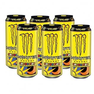 Monster Energy Drink The Doctor Erfrischungsgetränk 500ml 6er Pack