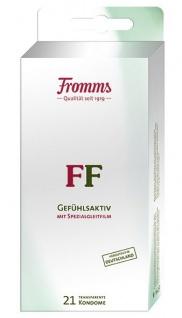 MAPA Fromms FF 21 Kondome SB Blockpackung mit Spezialgleitfilm
