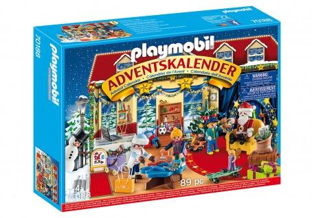 Playmobil Adventskalender Weihnachten im Spielwarengeschäft für Kinder