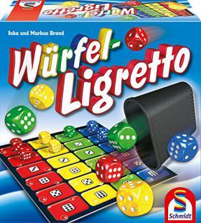 Schmidt Spiele 49611 Würfel-Ligretto