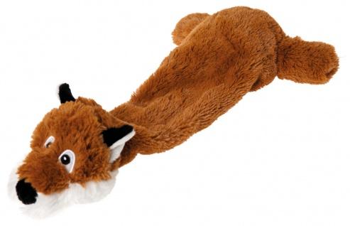 Hundeplüschspielzeug Hundespielzeug Shaky Fox mit Quietscher
