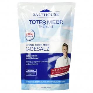 Salthouse Original Totes Meer kristalline Bade-Salz Naturprodukt 500g