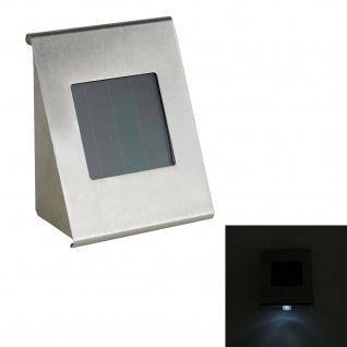 LED Solarleuchte aus Edelstahl mit Automatischer Dämmerungssensor
