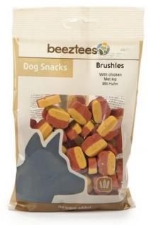 Tiernahrung Beeztees Brushies Leckerer Snack für den Hund 150g