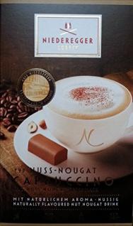 Niederegger Kaffeepulver Nuss Nougat Cappuccino 220g 10er Pack