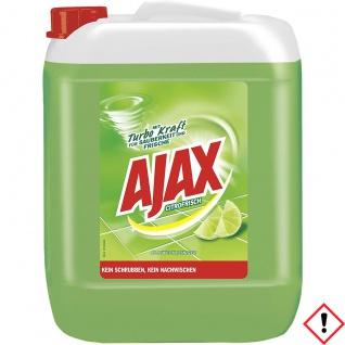 Ajax Allzweckreiniger Duftvariante Citrofrisch mit Turbokraft 10000 ml