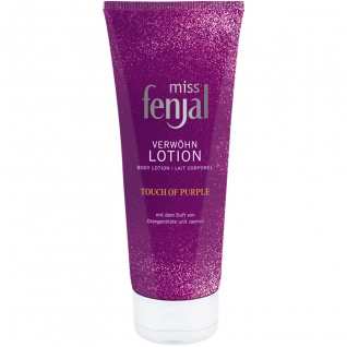 miss fenjal Touch of Purple Body Lotion die Verwöhnlotion 200ml