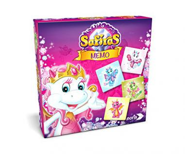 Noris Spiele 606011496 - Safiras Memo, Legespiel, bunt