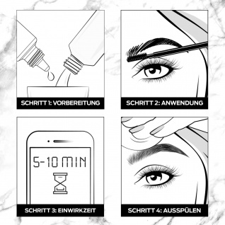 SYOSS Augenbrauen-Kit 1-1 Schwarz 17ml
