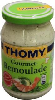 Thomy Gourmet Remoulade mit Kräutern und Sonnenblumenöl 250 ml