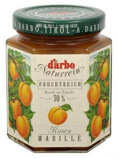 Darbo Naturrein Fruchtreich Konfitüre - Rosenmarillen 200g