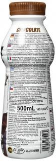 AllStars Muscle Shake Schoko Low Fat High Protein To Go 500ml - Vorschau 2