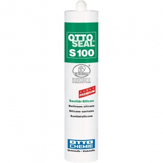 Ottoseal Premium Sanitär Silicon S 100 Farbe C 00 transparent 300ml