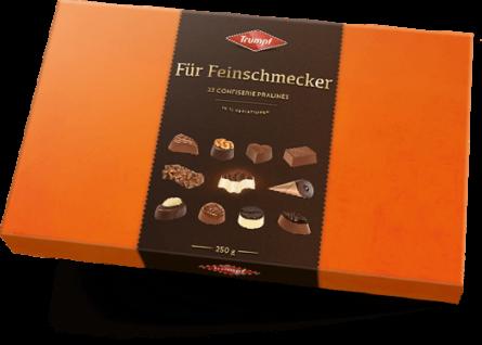 Trumpf Edle Pralinen Feinschmecker 250g, 1er Pack (1 x 250 g)