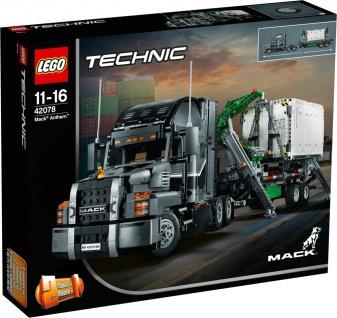 Lego Technic 42078 Mack Anthem Truck und Anhänger ab 11 Jahren
