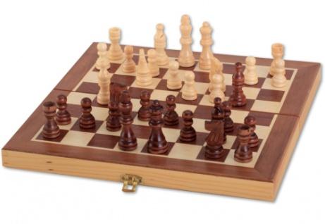NG Schachkassette dunkel 29x29cm