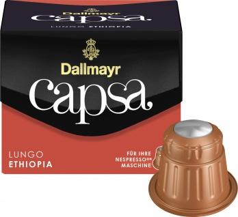 Dallmayr 10 Capsa Lungo Ethiopia Nespresso Kaffeekapseln 56g