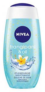 Nivea Pflegedusche mit Ölperlen und Frangipani Duft Inhalt 4er Pack