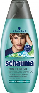 Schauma Mint Fresh Shampoo, 4er Pack (4 x 400 ml)