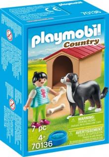 Playmobil Country Hofhund mit Hütte Konstruktionsspiel 70136