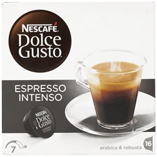 Nescafe Dolce Gusto Espresso Intenso 16 Aromaversiegelte Kapseln
